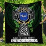 1sttheworld Premium Quilt - House of MACGORMAN Irish Family Crest Quilt - Irish Legend A7