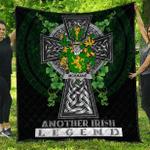 1sttheworld Premium Quilt - Shane or McShane Irish Family Crest Quilt - Irish Legend A7