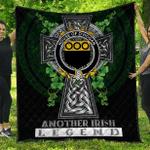 1sttheworld Premium Quilt - House of O'HOGAN Irish Family Crest Quilt - Irish Legend A7