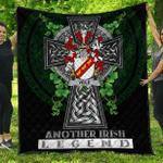 1sttheworld Premium Quilt - Veile or Veale Irish Family Crest Quilt - Irish Legend A7