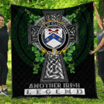 1sttheworld Premium Quilt - House of O'LONERGAN Irish Family Crest Quilt - Irish Legend A7