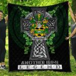 1sttheworld Premium Quilt - McSweeney Irish Family Crest Quilt - Irish Legend A7