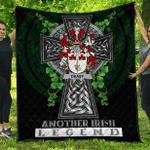 1sttheworld Premium Quilt - Deasy Irish Family Crest Quilt - Irish Legend A7