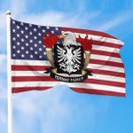 1sttheworld Premium Flag - Ternay American Family Crest Flag A7