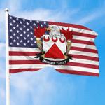 1sttheworld Premium Flag - Manson American Family Crest Flag A7