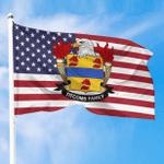 1sttheworld Premium Flag - Titcomb American Family Crest Flag A7