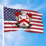 1sttheworld Premium Flag - Higgs American Family Crest Flag A7