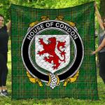 1sttheworld Premium Quilt - House Of Condon Irish Family Crest Quilt - Irish National Tartan A7