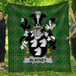 1sttheworld Premium Quilt - Blayney Irish Family Crest Quilt - Irish National Tartan A7