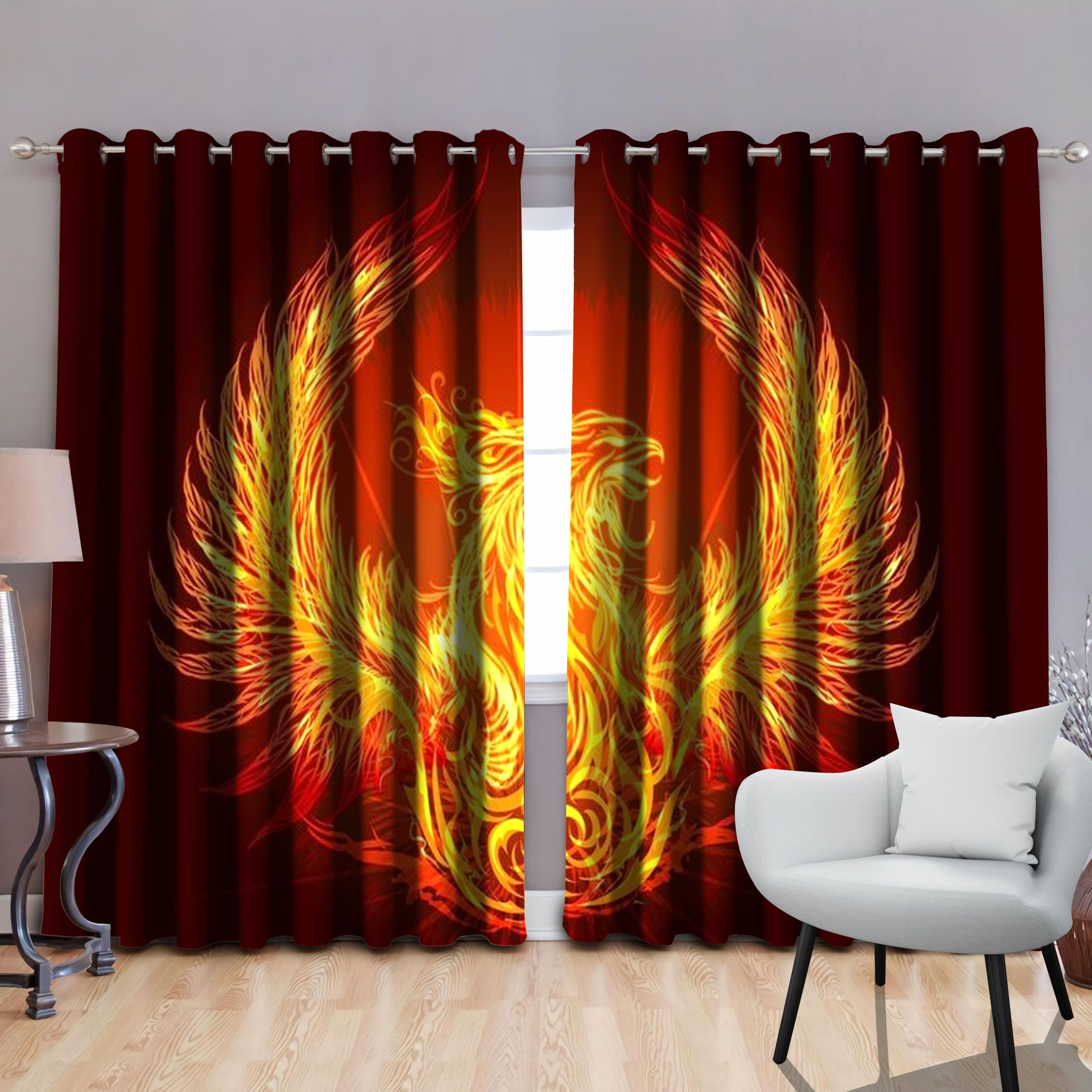 Phoenix Power by SUN Window Curtains JJ180521S-SU