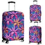 Alohawaii Accessory - Hawaii Tropical Flowers Pink Luggage Cover