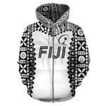 Alohawaii Clothing - Zip Hoodie Fiji - Rugby Style TH5