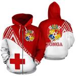 Alohawaii Clothing - Zip Hoodie Tonga All Over - Split Style - Bn01