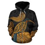 Alohawaii Clothing - Zip Hoodie New Zealand - Aotearoa Kiwi Bird - BN15