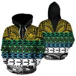 Alohawaii Clothing - Zip Hoodie Hawaiian Kanaka Maoli Polynesian Pattern TH5