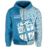 Alohawaii Clothing - Fiji Spirit Zip Hoodie J0