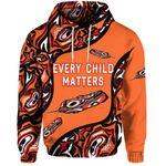 Alohawaii Clothing - Orange Shirt Day Hoodie Every Child Matters - Aboriginal Feather NO.1
