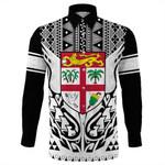 Alohawaii Clothing - Fiji Digicel Style Long Sleeve Button Shirt J0