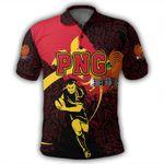 Alohawaii Shirt - Papua New Guinea Polo Shirt Rugby Papuan Pattern Spoto Style J1
