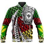 Alohawaii Jacket - Kanaka Maoli Baseball Jacket Kakau Pattern Pohic Style J1