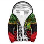 Alohawaii Clothing - Kanaka Maoli Sherpa Hoodie Flag Kakau Pattern Stronic Style J10