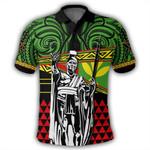 Alohawaii Shirt - Kanaka Maoli Polo Shirt Flag Kakau Pattern Stronic Style J10