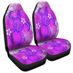Alohawaii Accessories Car Seat Covers - Pink Polynesian Turtle Car Seat Covers J0