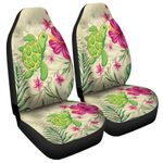 homeseta7 Alohawaii Accessories Car Seat Covers - Cute Turtle Hibiscus Car Seat Covers J0