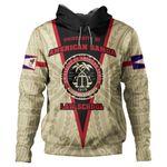 (Custom) Alohawaii American Samoa Clothing - American Samoa Law School Hoodie J0