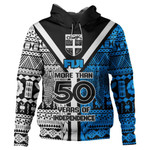 Alohawaii Fiji Clothing - Fiji More Than 50 Years Of Independence Hoodie J0