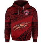Alohawaii Fiji Clothing -  (Custom Personalised) Fiji Rewa Rugby Union Hoodie Special Version - Red NO.1, Custom Text And Number LT8