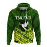 Alohawaii Fiji Clothing - Tailevu Rugby Union Fiji Hoodie - Tapa Pattern - LT12