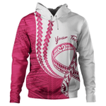 (Custom) Alohawaii Clothing - Pinktober White Hoodie J0