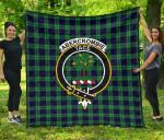 Abercrombie Tartan Clan Badge Premium Quilt TH8