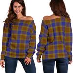 Tartan Womens Off Shoulder Sweater - Balfour Modern - BN