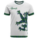 Forsyth Clan Bagpipes T-Shirt (White) - BN15
