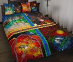 1stAustralia Quilt  Set Covers - Aboriginal Mix Ver01 - BN1518