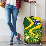 1stAustralia Luggage Cover - Australia National Color Suitcase Cover