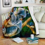 1stAustralia Premium Blanket - 3D Koala Blanket - Koala Aussie Greeting
