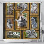 1stAustralia Shower Curtain - Koala Shower Curtain 3D Frame