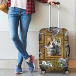 1stAustralia Luggage Cover - Koala Suitcase Cover 3D Frame