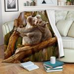 1stAustralia Premium Blanket - Australian Koala Blanket 3D Koala