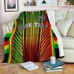 Hawaii Polynesian Custom Personalised Premium Blanket - Tribal Ornamental