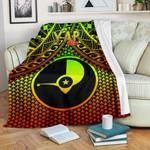 Polynesian Yap Premium Blanket - Reggae Vintage Polynesian Patterns