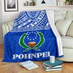 Pohnpei Premium Blanket - Micronesian Blue Version