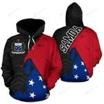 Samoa Special Grunge Flag Pullover Hoodie | Clothing | Love the World