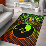 Polynesian Yap Area Rug - Reggae Vintage Polynesian Patterns
