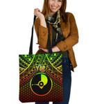 Polynesian Yap Tote Bags - Reggae Vintage Polynesian Patterns