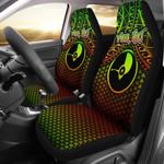 Polynesian Yap Personalised Car Seat Covers - Reggae Vintage Polynesian Patterns