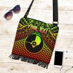 Polynesian Yap Personalised Crossbody Boho Handbag - Reggae Vintage Polynesian Patterns